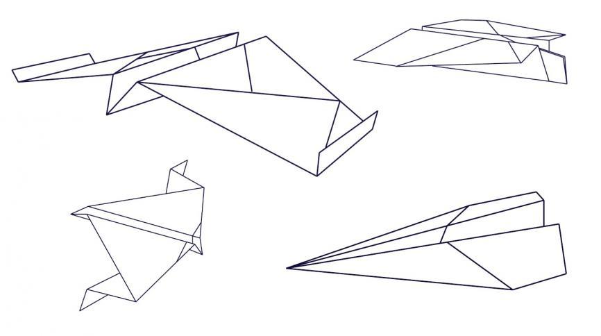Paper plane prototype